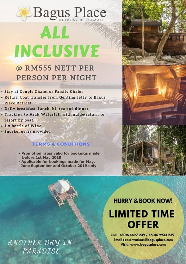 Bagus Place All-Inclusive Promo